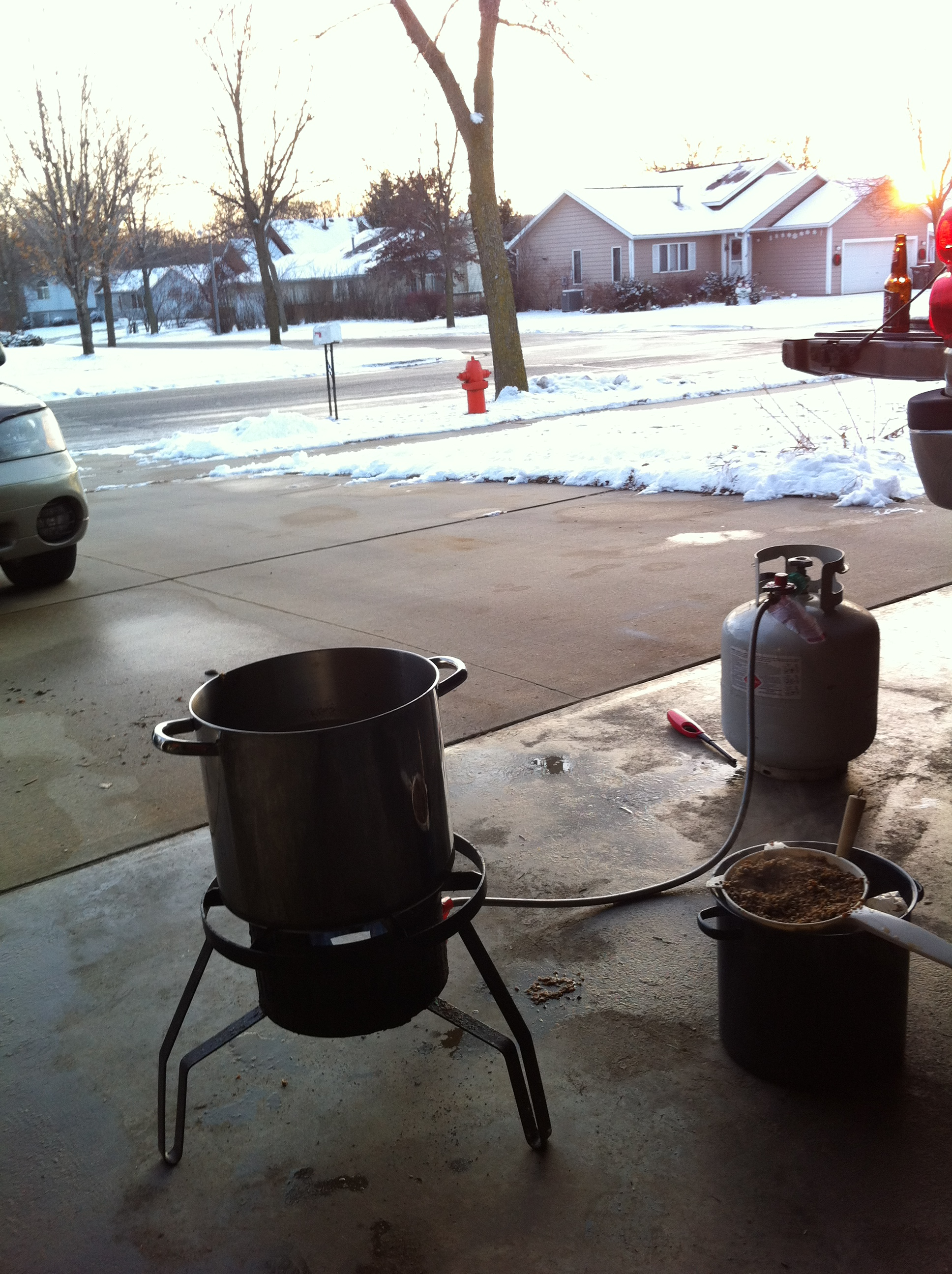 Brewing in the Great Outdoors (almost)