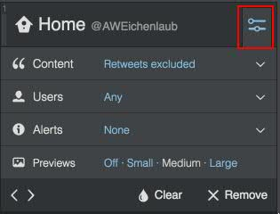 Using TweetDeck – Filter the Noise