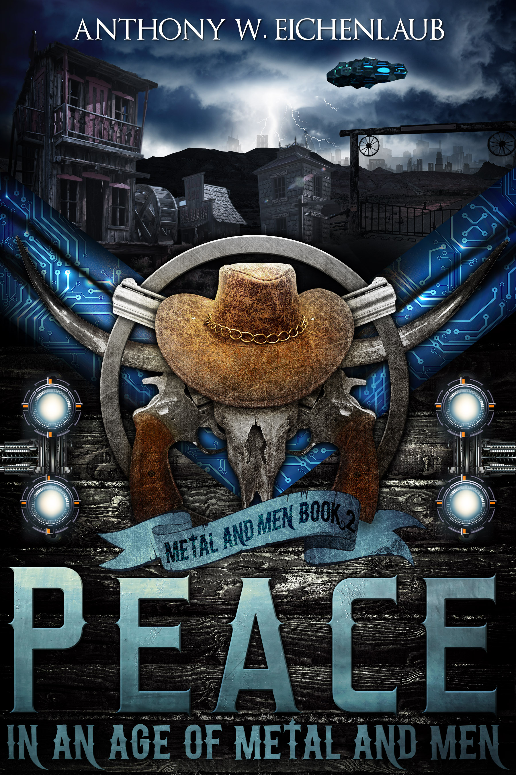 Cover Reveal: Peace in an Age of Metal and Men