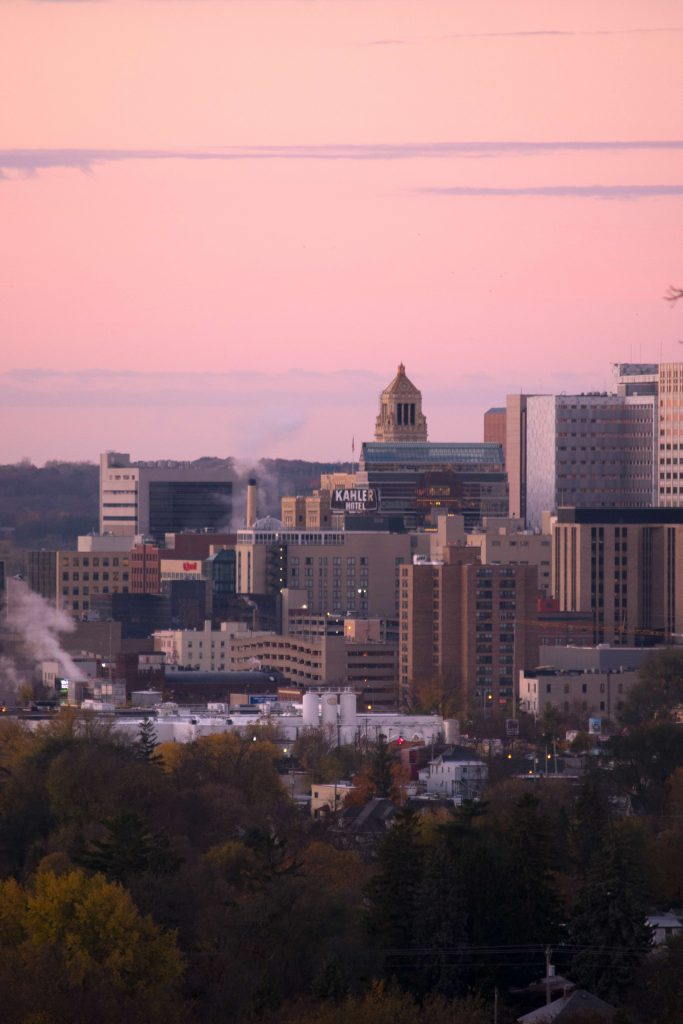 Rochester Sunrise that is not NaNoWriMo
