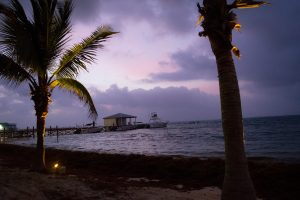 Sunrise in Belize