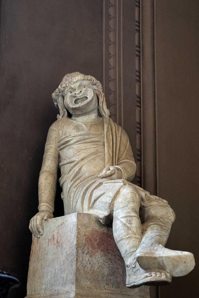 Statue of a guy just chilling from the Vatican